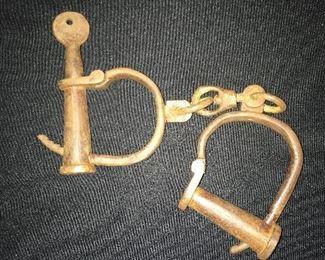 Vintage iron restraints
