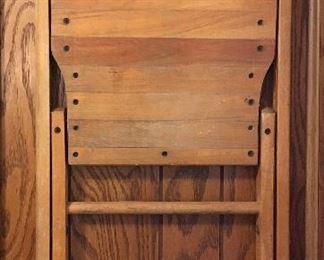 Vintage wood folding chair (pair)