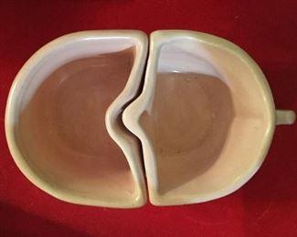 Vintage Camark pottery, creamer & sugar
