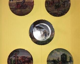 Various John Deere plates