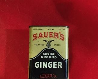 Vintage spice container