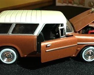 1955 Chevrolet Bel Air Nomad die cast