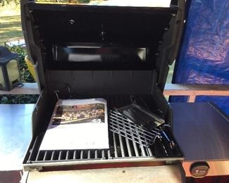 Inside view of grill