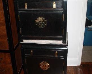 Pair of Century nightstands