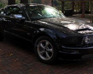 Alternate view of Mustang
