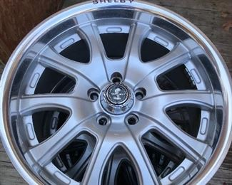 Brand new Shelby rims (set of 4)