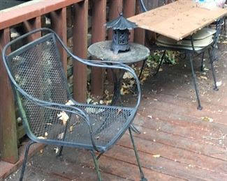 The other 2 mid century patio set