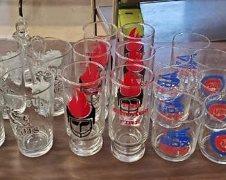 Hundreds of Glassware and Drinkware (Cubs, Sox, Bears, Fire, Liquor Brands and Miscellaneous)