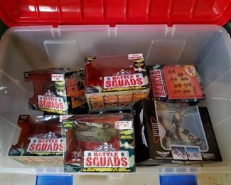 New-In-Box Battle Squads Figures