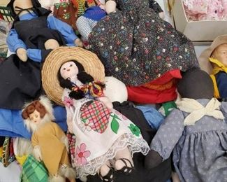Handmade Vintage Dolls, Including Amish Dolls