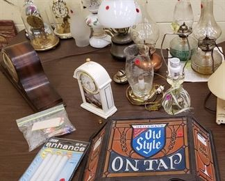 Old Style Sign and Barware