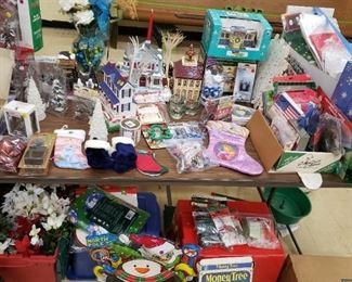 Christmas Decor and Village Accessories