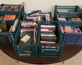 Books Ranging from Vintage to Modern