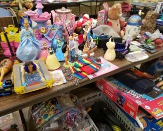 Disney, Star Wars, an Original Teddy Ruxpin and Other Toys Ranging from Vintage to Modern