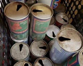 Vintage 7Up State Collectible Cans and other Vintage Collectible Cans
