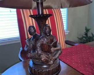 3 Monkey Lamp