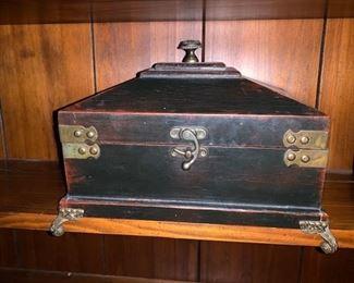 Wooden Desk box