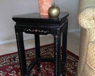 small oriental plant table