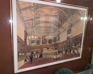 Belmont Hotel matching Prints