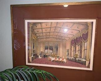Belmont Hotel Print