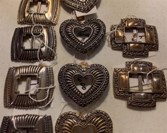 Ladies belt buckles