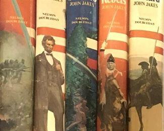 John Jakes 5 book set