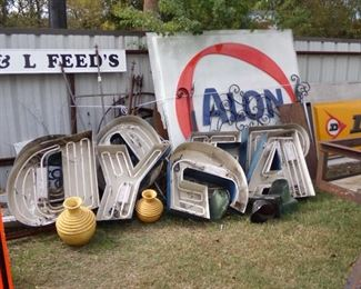 Lighted Letter Signs, your Choice!  More Metal Signs!!