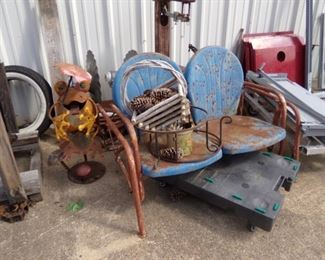 Metal Yard Items - Glider Chairs
