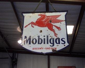 Mobile Gas Metal Sign