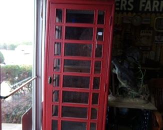 Wooden Telephone Booth