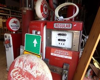 more Gas pumps - Signs