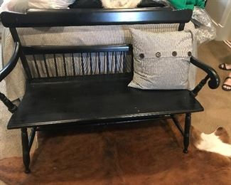 Great black bench