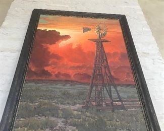 "Kenneth Wyatt signed 2008 title  Fire in the Sky 68"" x 48"""