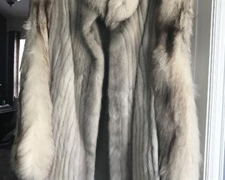 Vintage Fox fur coat from Canada