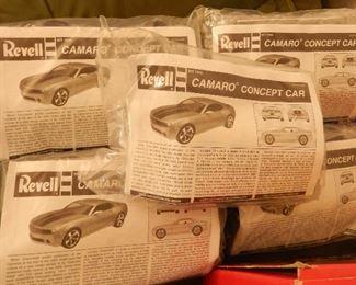 CAMARO  car Model, total of 5