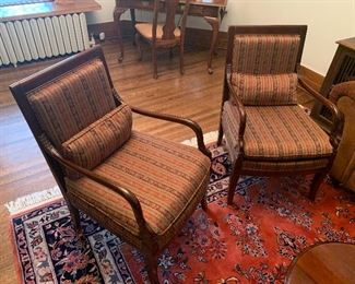 Quality wood arm chairs