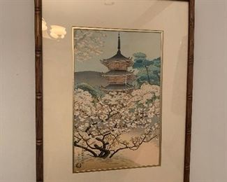 Asian style art print