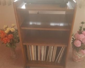 stereo, record albums