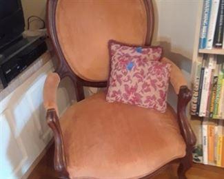 Victorian chair, 19th c.