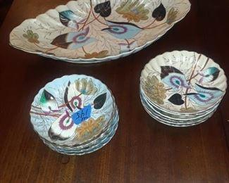 Porcelain ice cream set, 19th c.