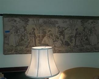 Woven tapestry, 19th c.