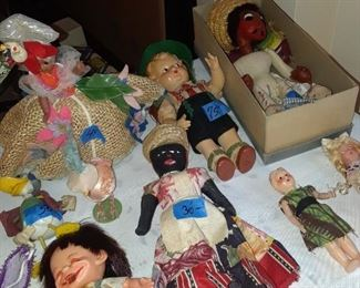 And more dolls from many countries