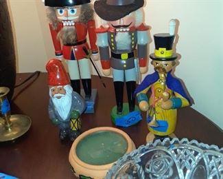 Nutcrackers and Santas