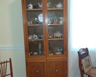 Mid century bookcase or display shelf