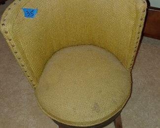 Child's rub chair