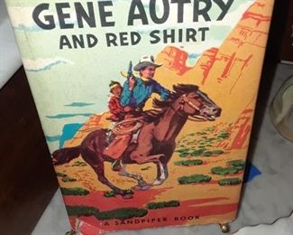 Gene Autry book for young readers, 1950s