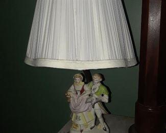 Figurine lamp, made in Japan
