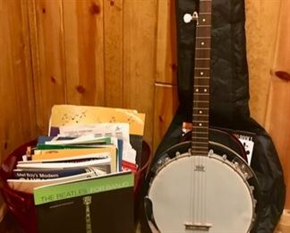 Banjo along with Beatles and other Sheet  Music, and more...