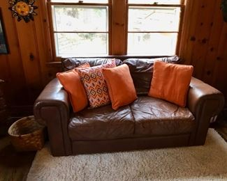 Love Seat and Matching Couch