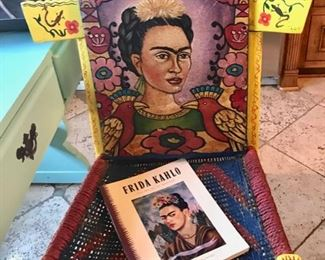 Frida Chair and Book